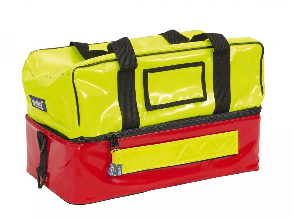 Záchranářská brašna - rescuebag plus - reflexní žlutá/červená
