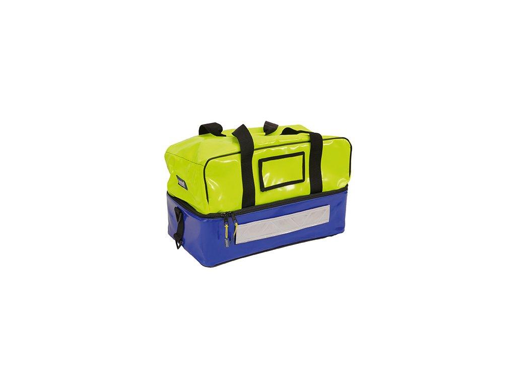 Záchranářská brašna - rescuebag plus - reflexní žlutá/ modrá