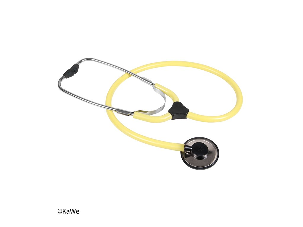 Fonendoskop KaWe Colorscop Plano - žlutá