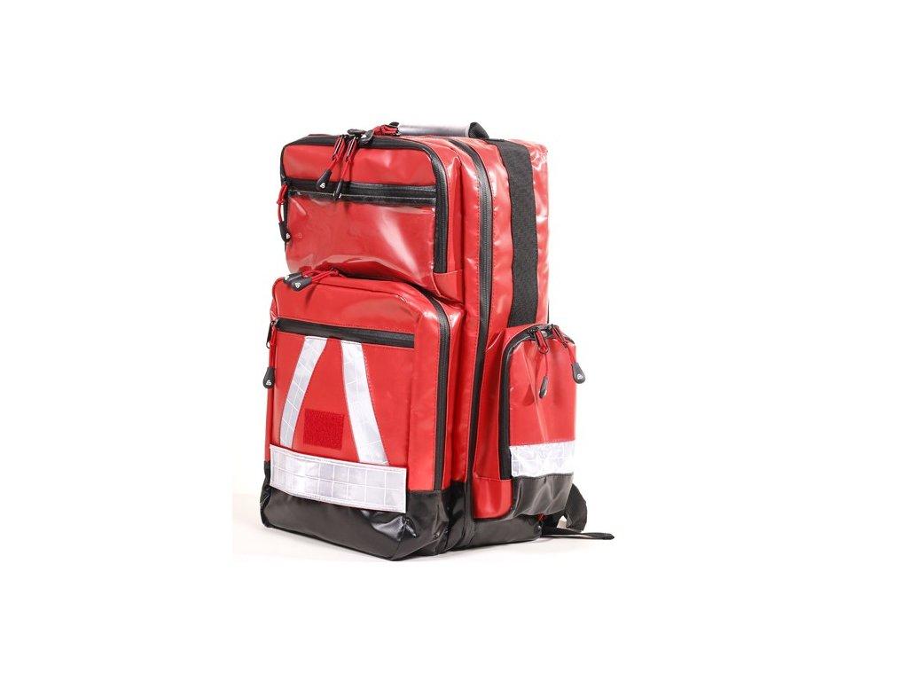 Záchranářský batoh - BexaTEC Water Stop Pro - pogumovaný - červený