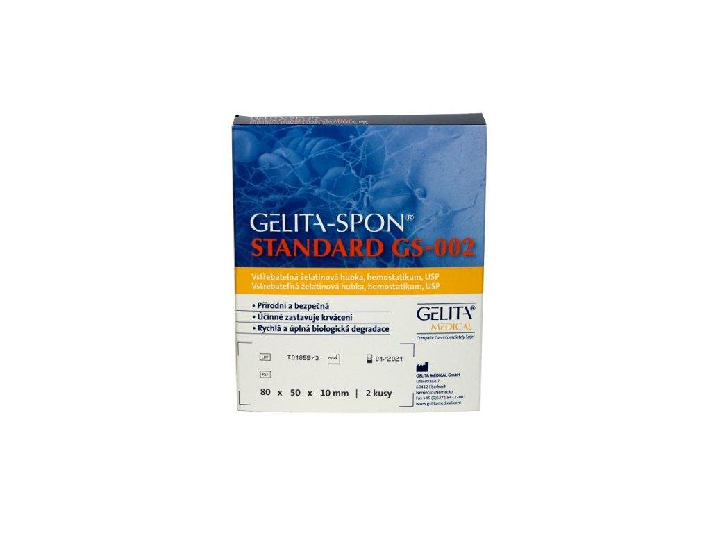 Želatinové hemostatikum Gelita-Spon Standard