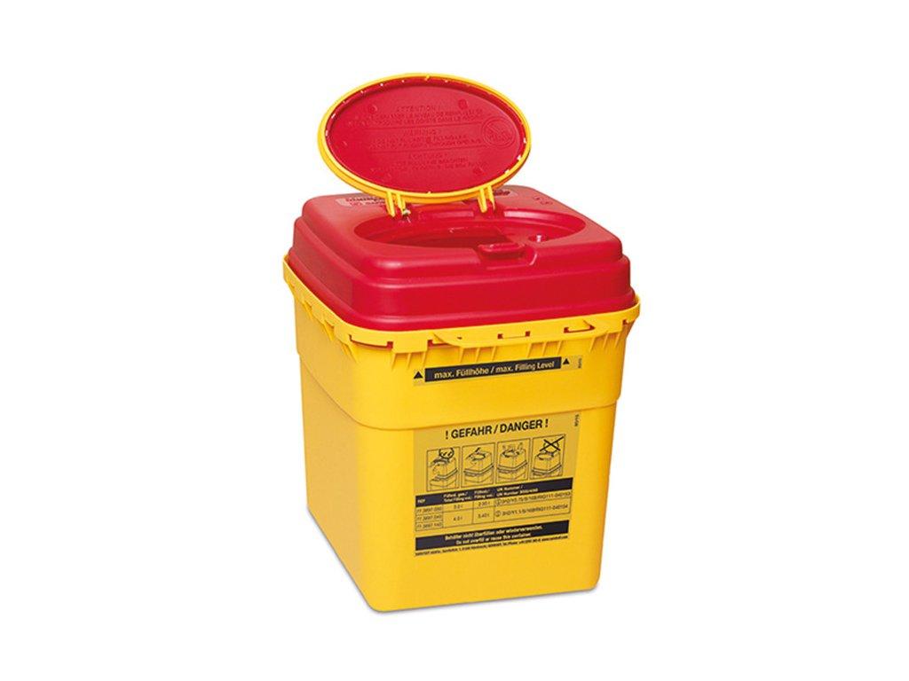 Kontejner na použité jehly - Multi-Safe euroMATIC 3000 - 3,0 l
