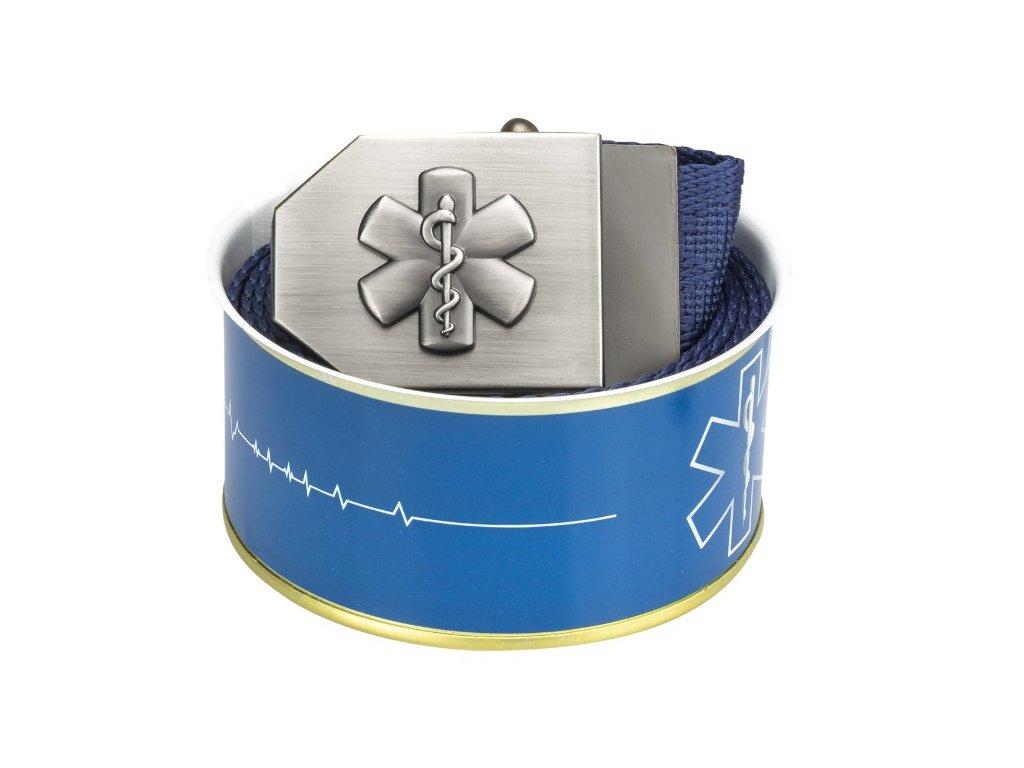 689 textile belt 3D star of life blue Buchse