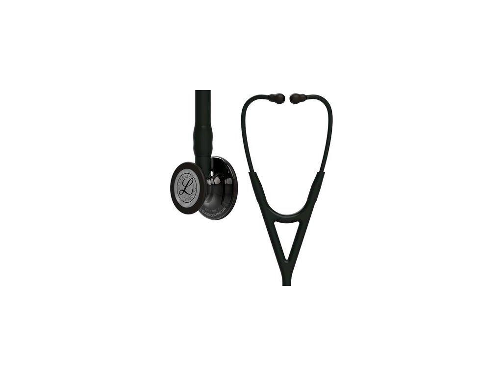 cardiology iv 6232 high polish smoke finish black tube black stem and black headset