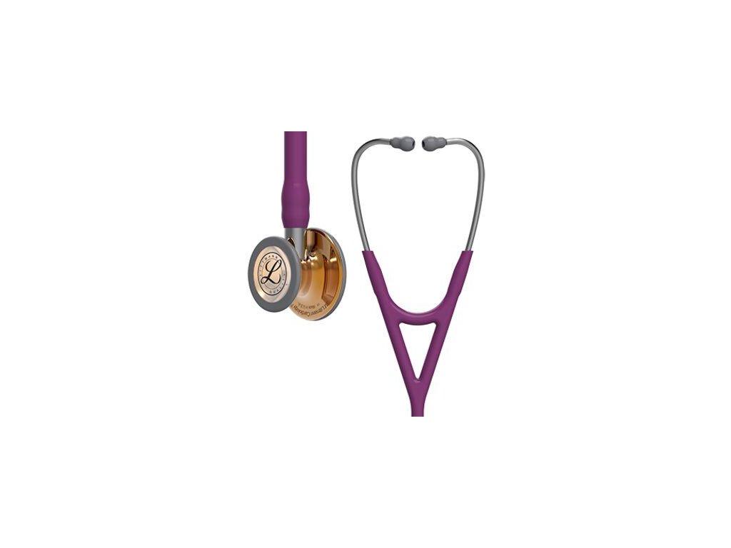 Fonendoskop Littmann Cardiology IV - švestková/měděná - limitovaná edice