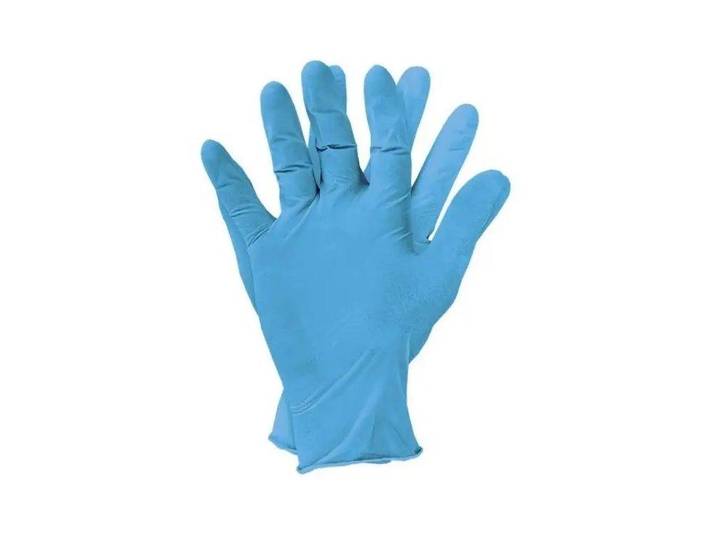 rukavice nitrilová