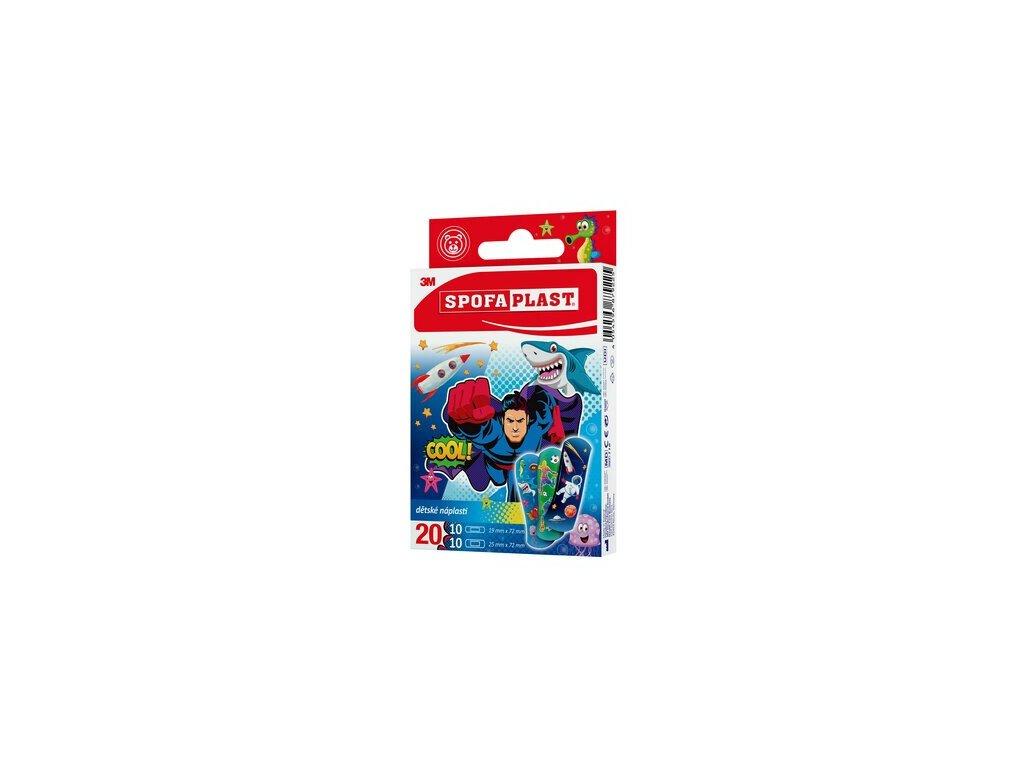 spofaplast 118 kids plasters assorted 20 pack clip