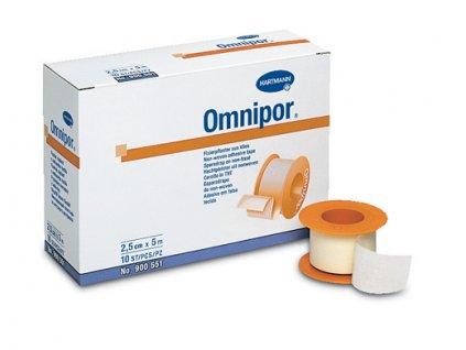 Náplast Omnipor - 2,5cm x 5m