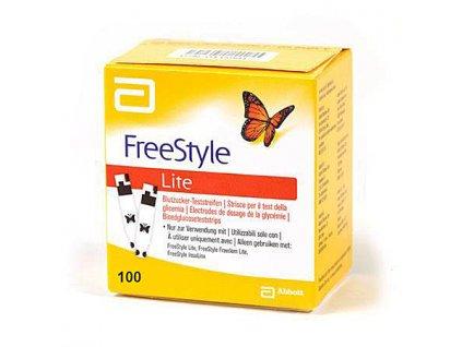 Testovací proužky FreeStyle Lite - 100 ks