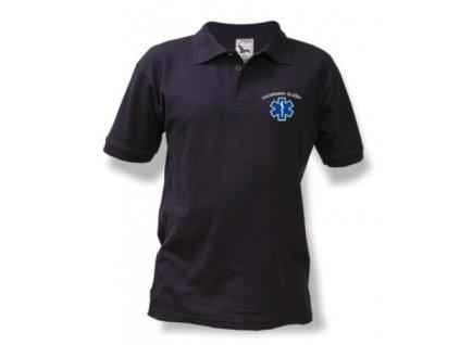Polokošile Pique - Záchranná služba - tmavě modrá