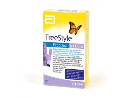 Testovací proužky pro ketolátky FreeStyle - 10 ks