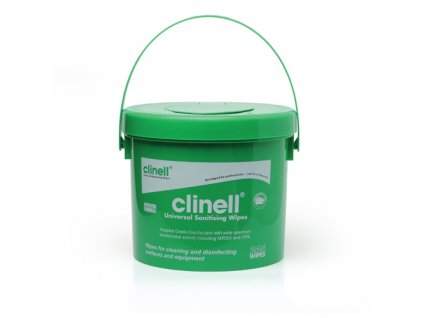 Dezinfekční ubrousky bezalkoholové Uni-clin Clinell 225ks v dóze
