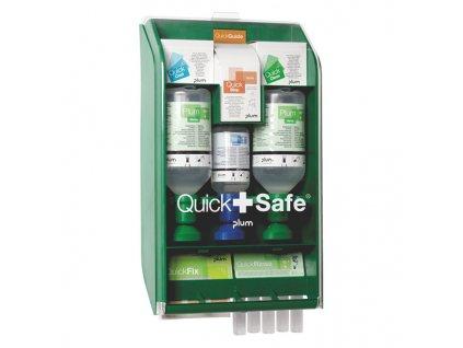 Výplach očí Plum Quick+Safe Complet - nástěnný box