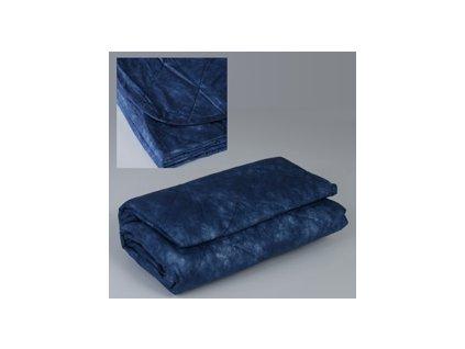 Jednorázová deka - modrá - 700gr