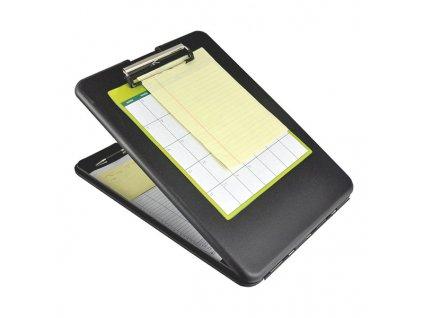 Plastové desky Plastic clipboard SlimMate - černé