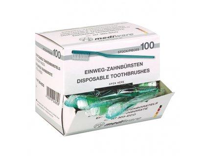 Zubní kartáček- jednorázový (bez pasty)