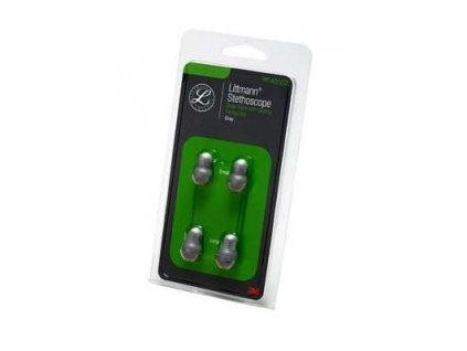Sada měkké olivky pro 3M™ Littmann® - šedé