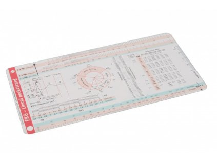 EKG pravítko - Lineal
