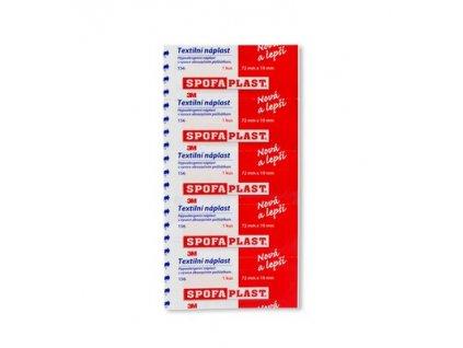 Spofaplast - Kusová textilní náplast - 5 ks