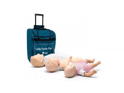 Resuscitační modely v sadě - Little Family Pack QCPR