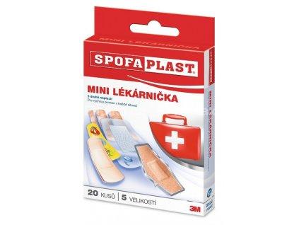 Spofaplast - Minilékárnička - 20ks