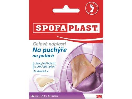 Spofaplast - Gelové náplasti na puchýře na patách - 4ks
