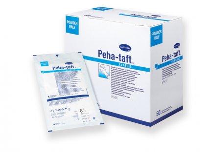 Peha-taft classic - chirurgické rukavice - bez pudru - 1 pár