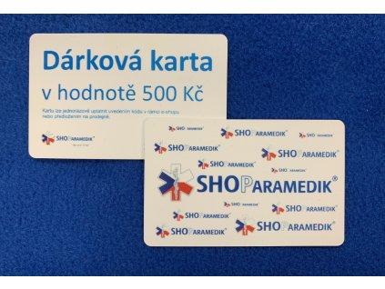 Dárková karta - 500 Kč