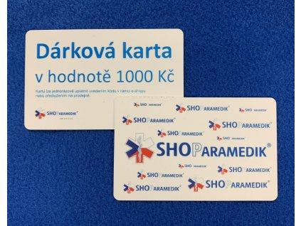 Dárková karta - 1000 Kč