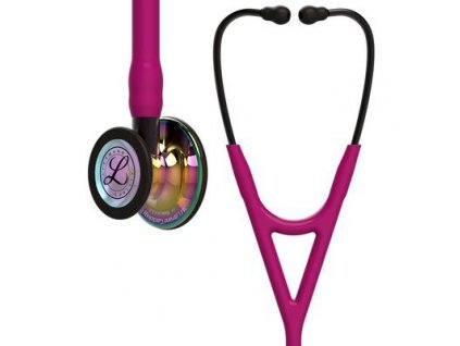 cardiology iv 6241 high polish rainbow finish raspberry tube smoke stem and smoke headset (1)
