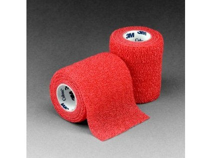 coban self adherent wrap red 1583r photo