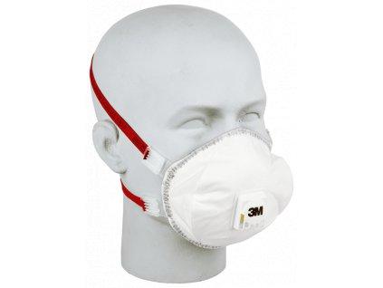 Respirátor tvarovaný 3M 8835+ FFP3 výdechový ventilek (5ks)  prodej bez DPH