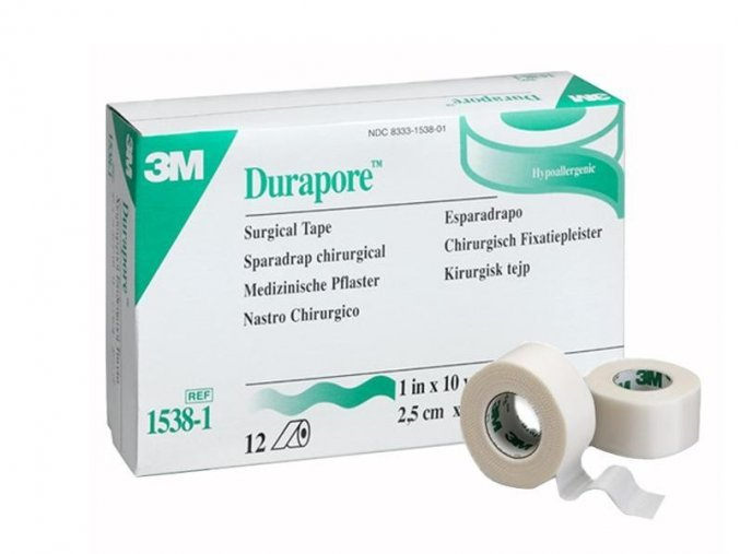 106 3m durapore medical tape 1 25 cm x 9 14 m