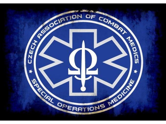 TRIKO CZECH ASSOCIATION of COMBAT MEDICS MODRÁ BARVA (TRIKO CACM  - Blue TRIKO CACM  - Blue velikost S,)