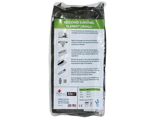 146 bps reflexcell sleeping bag military green