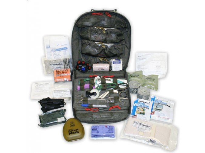 166 tacops m9 field ready assault medical backpack kit