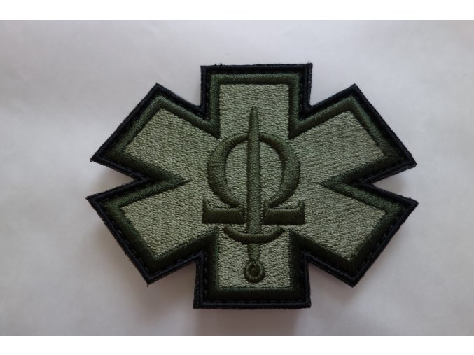 199 cacm patch light green