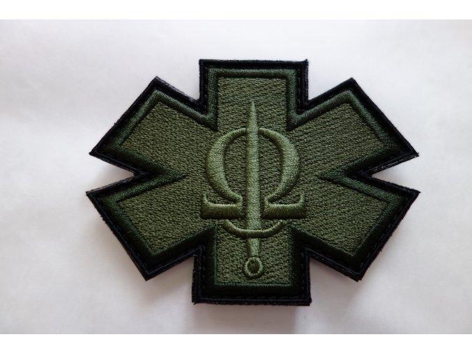 200 cacm patch dark green