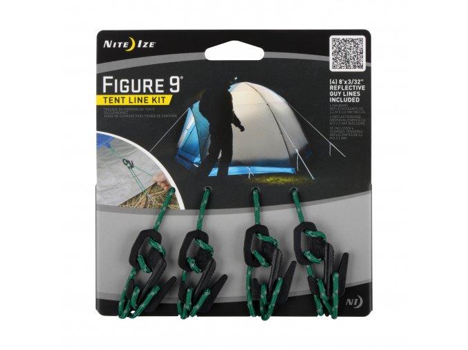 Kotvící stanový set Nite Ize Figure 9 Tent Line Kit
