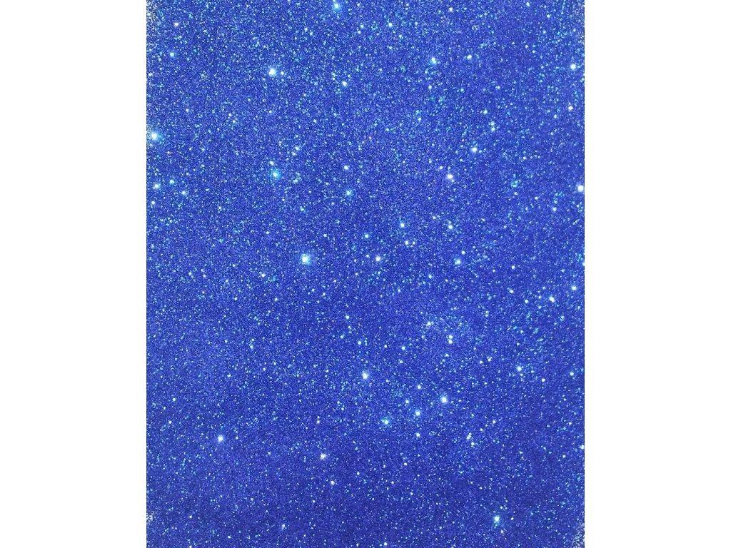 Modré třpytky glitrové 10g