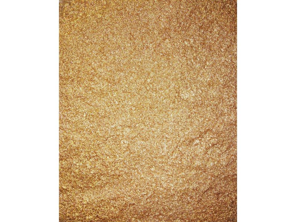 Kovový | Zrcadlový pigment do pryskyřice - bronzový 10 ml