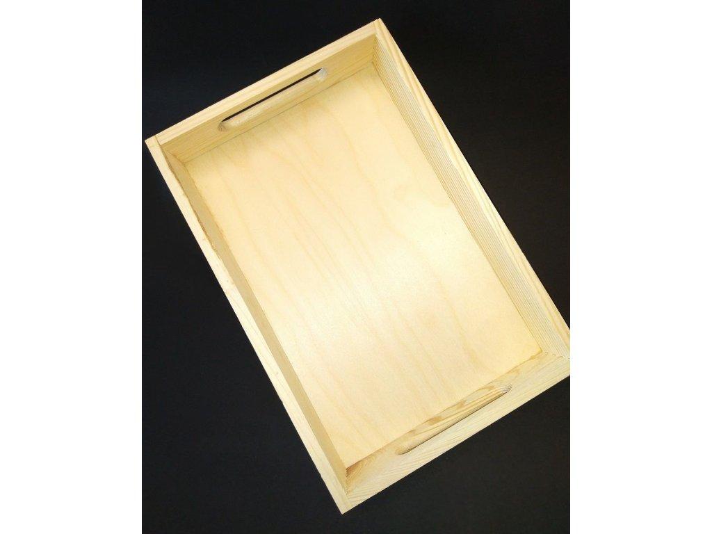 Dřevěný podnos 4 velikosti