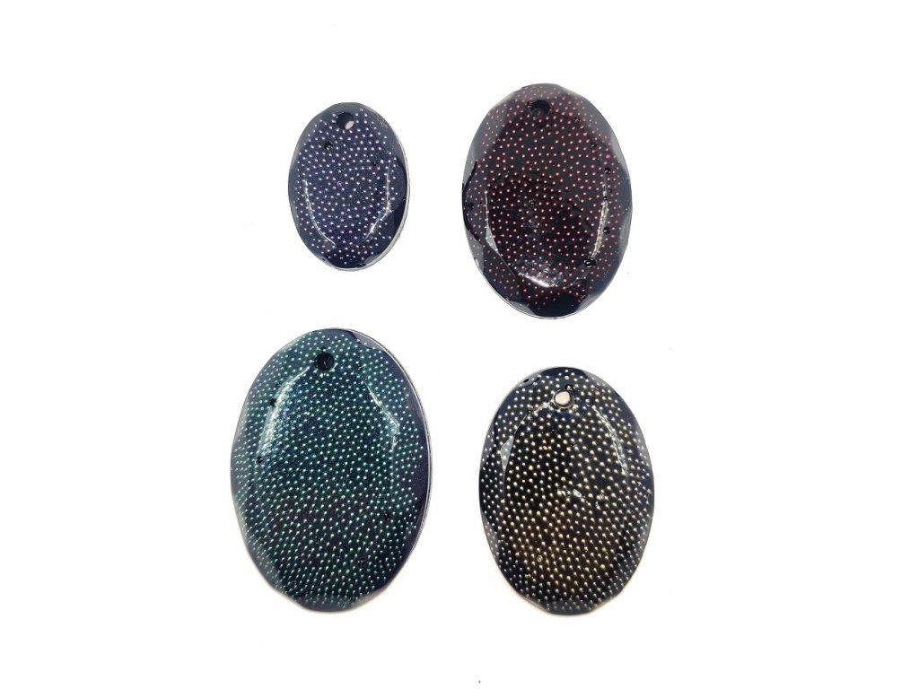 Perličky / skleněné kuličky do pryskyřice  40 g