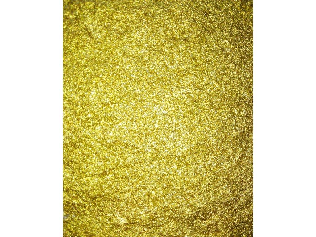 Kovový | Zrcadlový pigment do pryskyřice - zlatý 10 ml