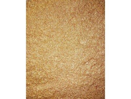Kovový   Zrcadlový pigment do pryskyřice - bronzový 10 ml