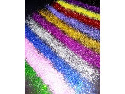 Třpytky glitrové do pryskyřice 10g - více barev