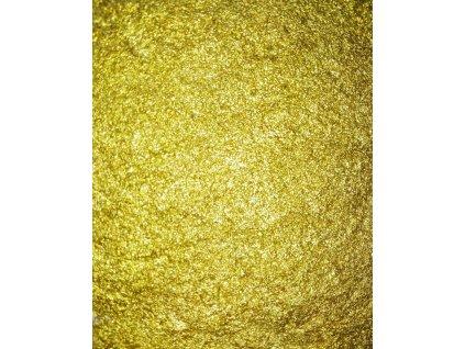 Kovový   Zrcadlový pigment do pryskyřice - zlatý 10 ml