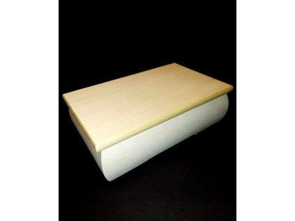 Dřevěná truhlička / šperkovnice k dekorování pryskyřici