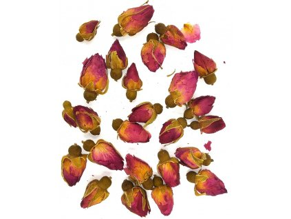Růžová poupátka do pryskyřice
