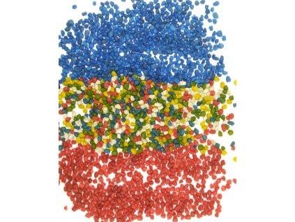 Písek do pryskyřice 3-5 mm - více barev